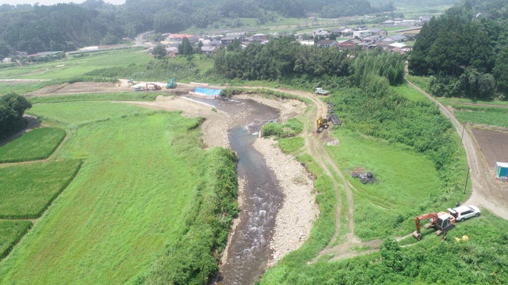 平成31年度元河川災第136号鬼付女川 河川災害復旧工事
